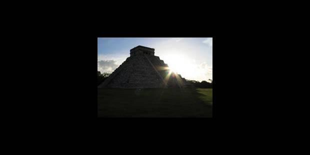 Un temple maya détruit pour remblayer des routes - La Libre