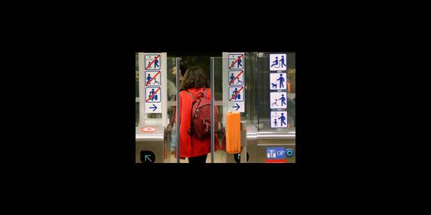 3,7 millions de voyageurs contrôlés en 2012 - La Libre
