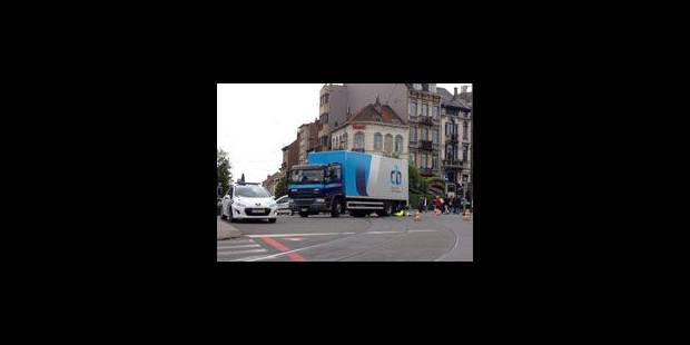 Etterbeek: Une femme écrasée par un camion sur l'avenue de Tervueren - La Libre