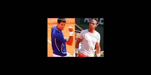 La demi-finale Rafael Nadal - Novak Djokovic aura bien lieu - La Libre
