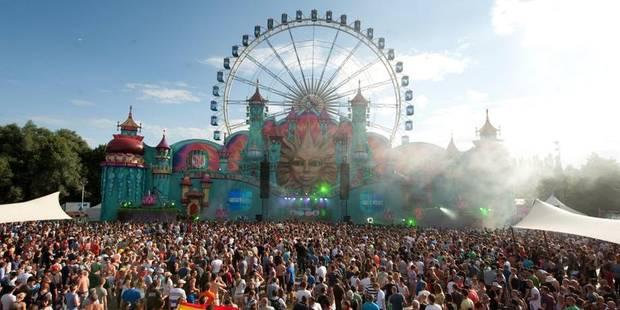 Festivals Tomorrowland vise l'international - La Libre