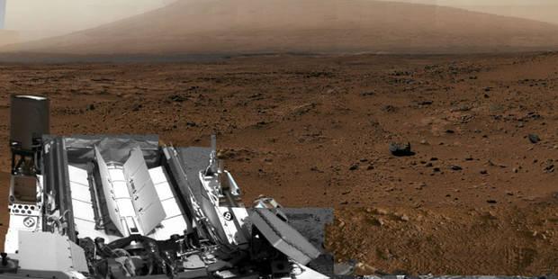 Curiosity: découvrez un spectaculaire panorama de Mars - La Libre