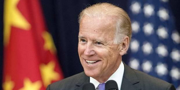Joe Biden, président des USA en 2016 ? - La Libre