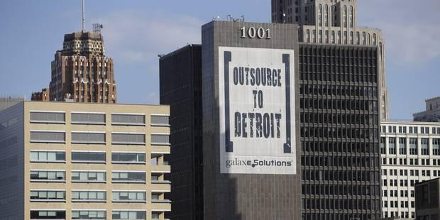 La ville de Detroit est en faillite - La Libre