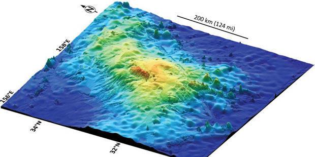 Où se situe le plus grand volcan du monde ? - La Libre