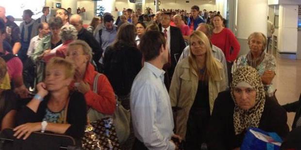 Grève du zèle de la douane à Brussels Airport - La Libre