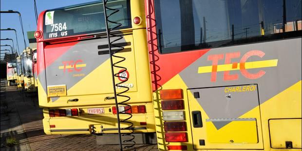 Des perturbations probables jeudi sur le réseau du TEC Charleroi - La Libre