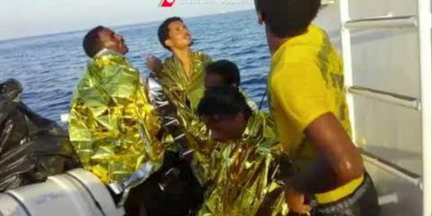 La traversée vers Lampedusa, ça ressemble à ça - La Libre