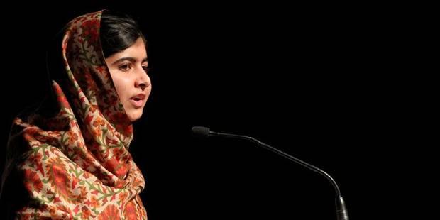 Malala couronnée du Prix Sakharov, les talibans contestent - La Libre