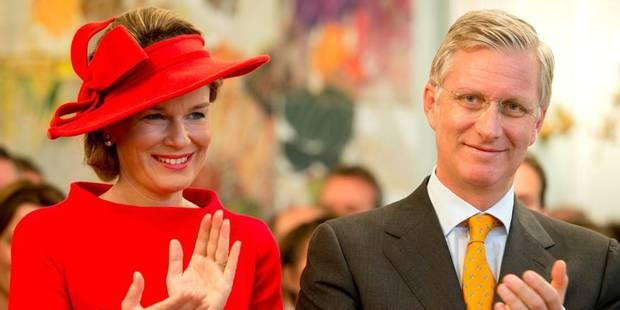 5.000 personnes à Arlon pour acclamer le couple royal - La Libre
