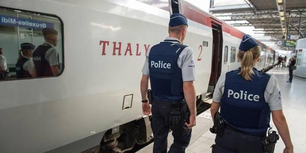 Il saute d'un Thalys après une altercation et se tue - La Libre