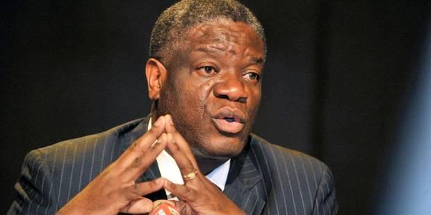 Le gynécologue Denis Mukwege sera fait docteur honoris causa de l'UCL - La Libre