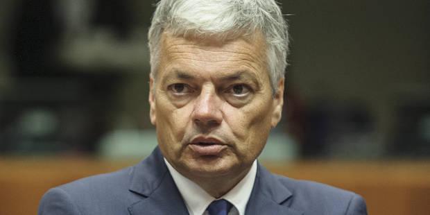 Didier Reynders confirme l'engagement belge en faveur des droits de l'homme - La Libre