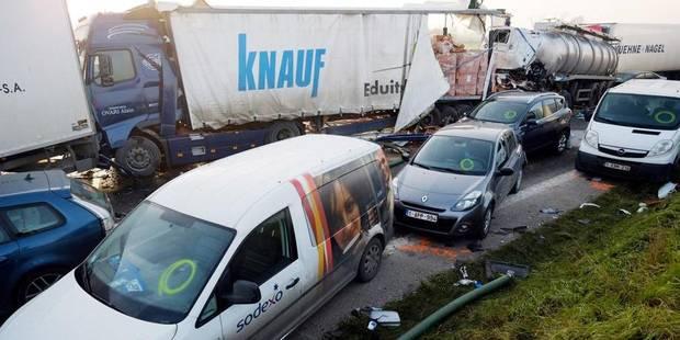 Collision en chaîne à Zonnebeke: les victimes bénéficieront d'une prise en charge accélérée - La Libre