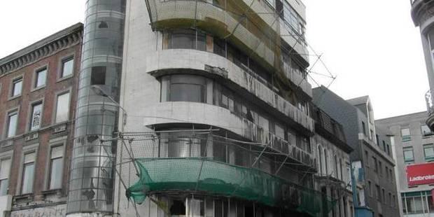 Vers une reconstruction de l'immeuble De Heug ? - La Libre