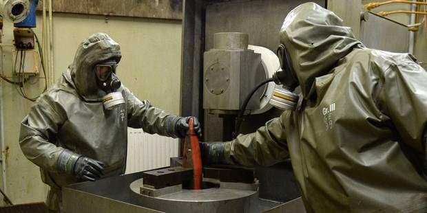 Une entreprise belge veut traiter les déchets provenant des armes syriennes - La Libre