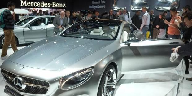 Année record pour Mercedes-Benz en 2013 - La Libre