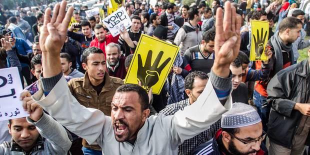 """Egypte: 98,1% de """"oui"""" au référendum constitutionnel - La Libre"""