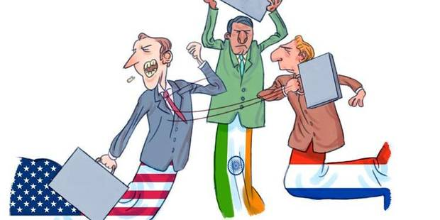 Indignes diplomates - La Libre