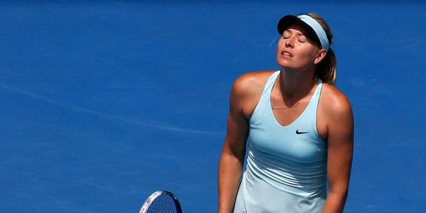 Sharapova éliminée, Nadal et Federer en quarts - La Libre