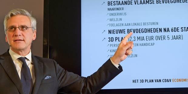 L'opposition libérale flamande ne buse pas l'équipe Peeters II - La Libre