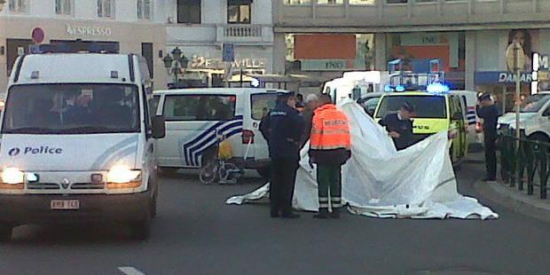 Un piéton décède en traversant place Louise à Bruxelles - La Libre