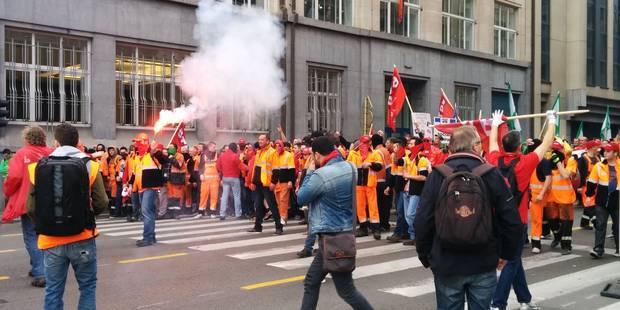 Bruxelles: affrontements à la manifestation européenne - La Libre
