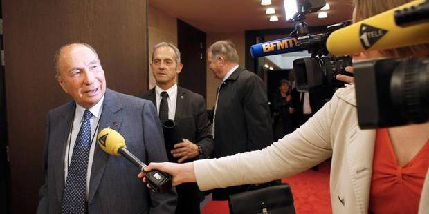 Serge Dassault mis en examen pour achat de votes - La Libre