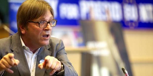 Les rémunérations de Verhofstadt remises en question - La Libre