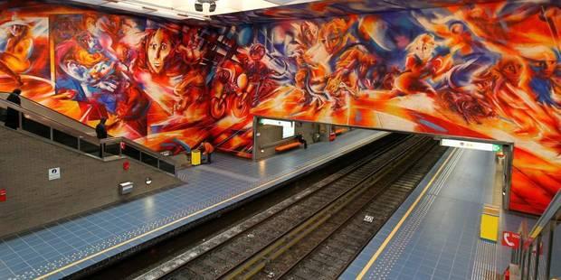 La circulation des métros suspendue entre Pétillon et Beaulieu - La Libre
