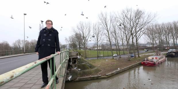 La rénovation du pont Marchant suspendue - La Libre