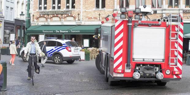 Le jeune homme poignardé à Bruges victime d'un acte de violence insensé - La Libre