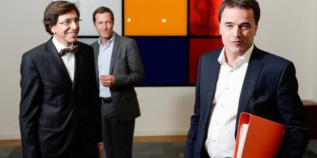 Le duo du PS a reçu Benoît Lutgen après Charles Michel - La Libre