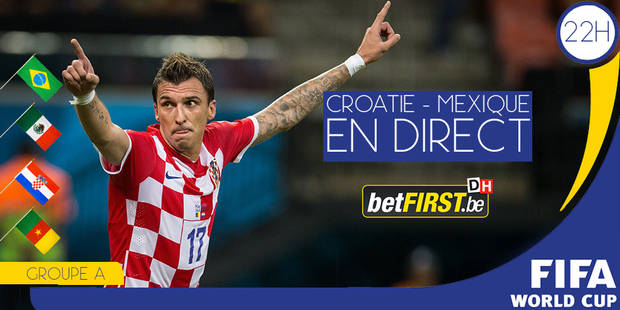 Mexique-Croatie: une finale pour la qualification - La Libre