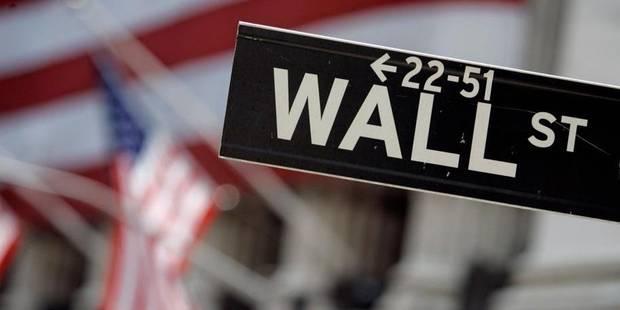 Wall Street rebondit après la déroute de la semaine dernière - La Libre