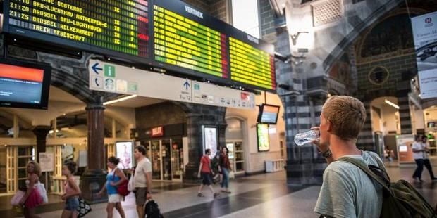Pas de trains entre Bruxelles et Ottignies jusque dimanche matin - La Libre