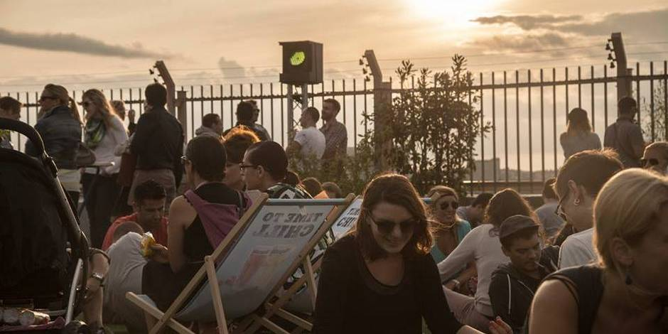 Trois endroits bruxelles o l 39 on se sent new york la libre - Jardin suspendu brussels montpellier ...