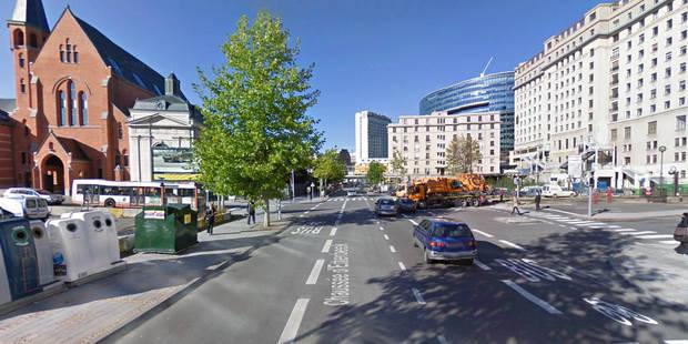 Des travaux provisoires entamés sur le réseau d'égouttage fissuré chaussée d'Etterbeek - La Libre