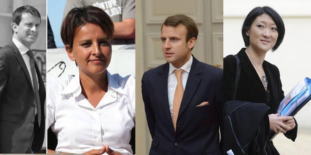 France : Vallaud-Belkacem à l'Education, Macron à l'Economie, Pellerin à la Culture - La Libre