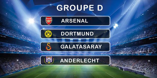 Ligue des Champions: des affiches et du beau jeu pour Anderlecht - La Libre
