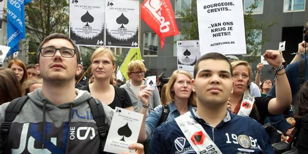 2.000 étudiants flamands dans les rues de Bruxelles contre l'augmentation du minerval - La Libre