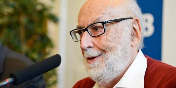 Une voirie ixelloise prend le nom du prix Nobel de physique François Englert - La Libre