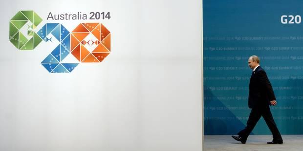 L'Occident et ses alliés maintiennent la pression sur Poutine au G20 - La Libre