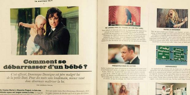 """""""Comment se débarasser d'un bébé"""": la double-page de Lui qui va faire parler d'elle - La Libre"""