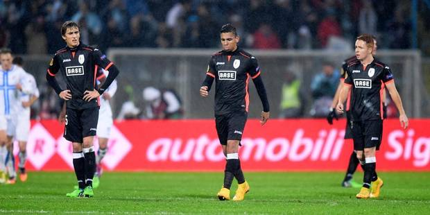 Europa League: Battu 2-0 par Rijeka, le Standard prend la porte - La Libre