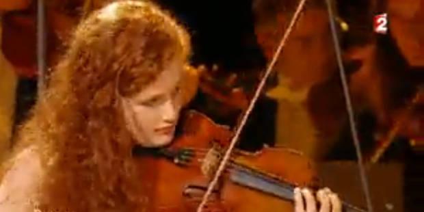 """Camille, 15 ans, émerveille le public de """"Prodiges"""" sur France 2 avec son violon (vidéo) - La Libre"""