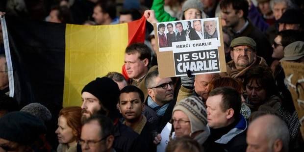 """Marche à Bruxelles : """"Notre capitale fait un doigt d'honneur à la connerie"""" - La Libre"""