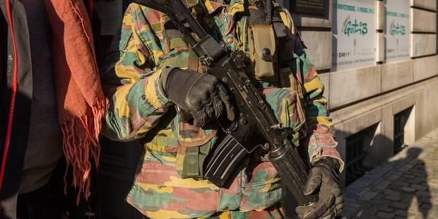 Voici combien a coûté la présence de militaires dans les rues - La Libre