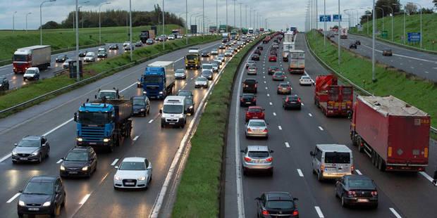 Un accident perturbe le trafic sur le ring de Bruxelles à hauteur de Woluwe-Saint-Etienne - La Libre