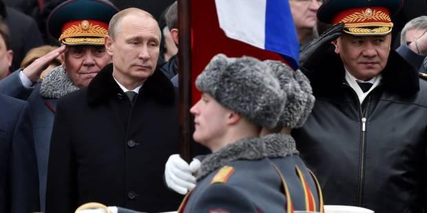"""Poutine exclut un """"scénario d'apocalypse"""" pour l'Ukraine - La Libre"""